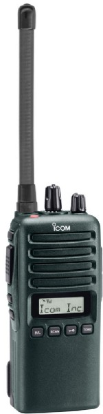 Komradio ICOM ProHunt Advanced BTi Bluetooth, grön