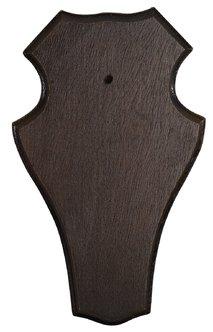 Trofésköld rådjur mörk 19x12 cm