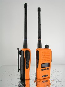 Jaktradio Albe-X7. 31+155 mhz.2st Batteri