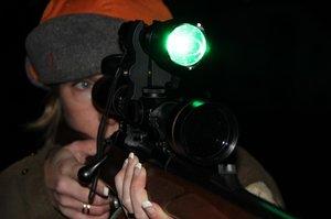 Forndalens Vak/eftersökslampa 250 Lumen LED Grönt ljus