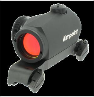 Aimpoint Micro H-1 med Blaser original sadelmontage
